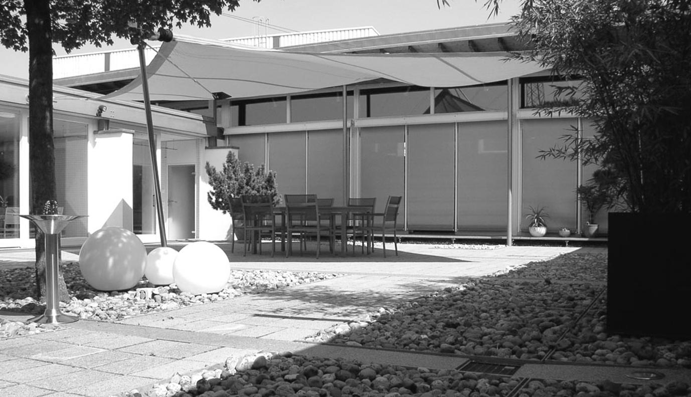Atriumhof in Leimen